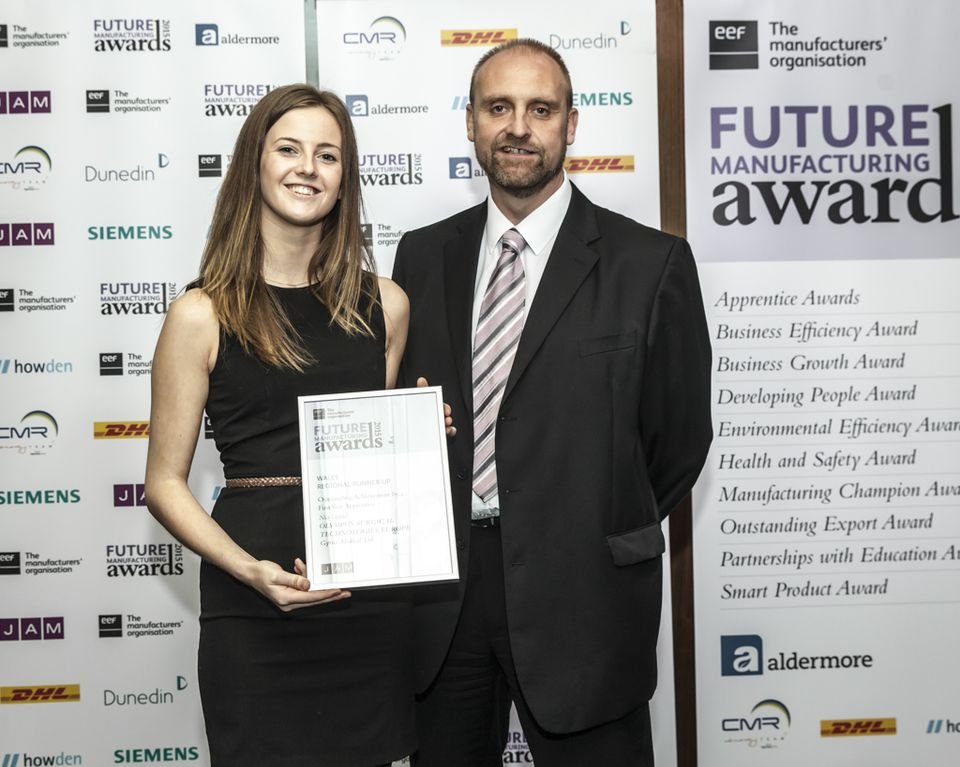 Photo: The EEF Future Manufacturing Awards